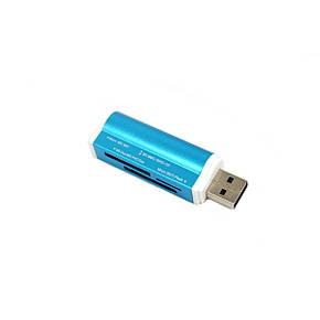Кардрідер USB2.0 (card reader/writer) 4 в 1, ALLOYSEED, фото 2