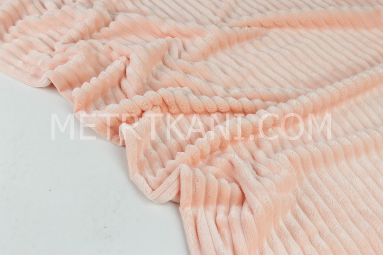 Клаптик. Minky Stripes плюш мерехтливої кольору №с-76, 58*160 см