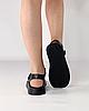 Сандалии женские кожаные чёрные на липучках MORENTO, фото 4