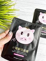 Тканевая маска для лица йогуртовая со свинкой  Piggy Yogurt Pefreshing, фото 1