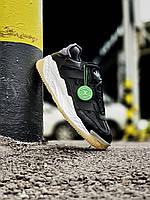 Мужские Кроссовки Adidas Niteball White Black(AAA+)44-45
