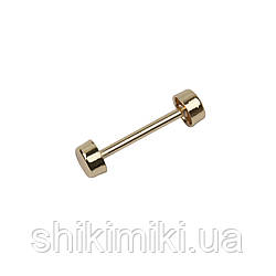 Штанга декоративная SH903-3 (26,5 мм), цвет золото