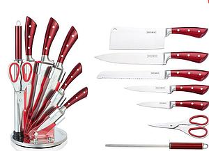 Набор металлических ножей на подставке ROYALTY LINE RL-KSS810