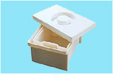 Емкость-контейнер полимерный для дезинфекции и предстерилизационной обработки мед. изделий ЕДПО-1-01 (1 литр)