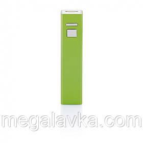 Пауер-банк на 2200 mAh, колір лайма