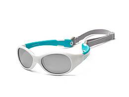 Солнцезащитные детские очки с ремешком, Koolsun Flex, 0-3 года