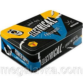 """Коробка для зберігання """"Best Garage, Electrical Equipment"""" (30716)"""