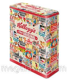 """Коробка для зберігання XL""""kellogg's The Original Collage"""" (30308)"""
