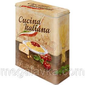 """Коробка для зберігання XL""""Cucina Italiana"""" Ностальгічне Art (30316)"""