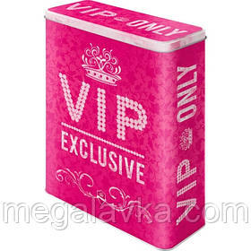 """Коробка для зберігання XL""""VIP Pink Only"""" Ностальгічне Art (30318)"""