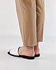 Шлепанцы женские кожаные белые MORENTO, фото 3