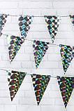 Декоративная гирлянда Birtyday Party, голографическая, фото 4