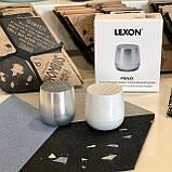 Два Bluetooth динамика Lexon TWIN MINO stereo, алюминий, фото 2