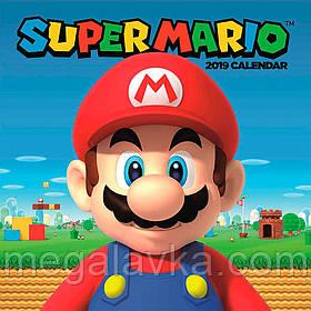 Календарь Super Mario 2019 30 х 30 см