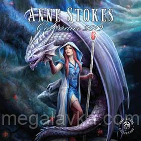 Календарь Anne Stokes 30 х 30 см