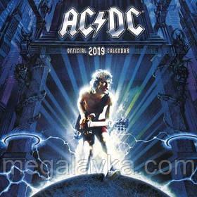 Календарь AC/DC 2019 30 х 30 см
