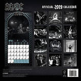 Календарь AC/DC 2019 30 х 30 см, фото 2