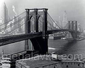 Фотокартина на полотні (New York 1946) 60 х 80 см