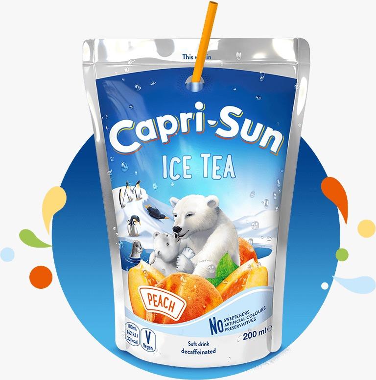 Напій CAPRI-SUN Ice Tea Peach 0,2 л, 10шт/уп,