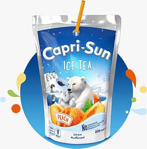 Напій CAPRI-SUN Ice Tea Peach 0,2л, 10шт/уп