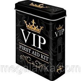 """Коробка для пластиру """"VIP-Kit"""" Ностальгічне Art (86102)"""