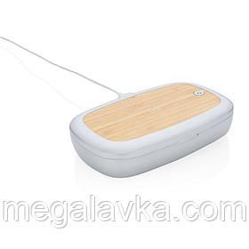 Стерилізатор UV-C Rena з функцією бездротової зарядки, 5 Вт
