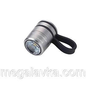 Ліхтарик спортивний Troika, сірий