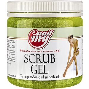 Скраб сахарный My Nail Scrub Gel лимон, 473 мл