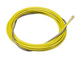 Проволокопровод металлический с покрытием желтый 1,2-1,6 мм 3 М LGS2360G для МИГ/МАГ Горелок Lincoln Electric
