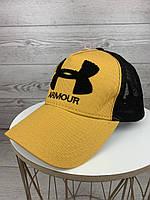 Кепка Under Armour Андер Армор молодежная стильная кепка тракер бейсболка летняя с сеткой хлопок