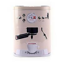 """Коробка для кофе """"Кофе-машина"""", розовая"""