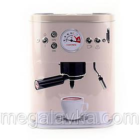 """Коробка для кави """"Кава-машина"""", рожева"""