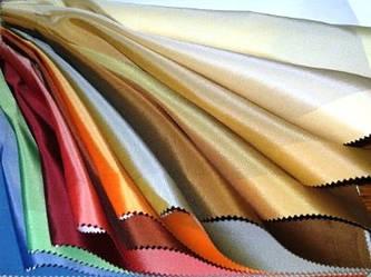 Ткани, используемые в производстве.