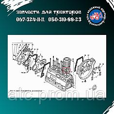 Кольцо гильзы Д-144 медное  Д37М-1002023