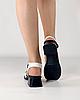 Босоножки женские кожаные белые на каблуке с пряжками MORENTO, фото 4