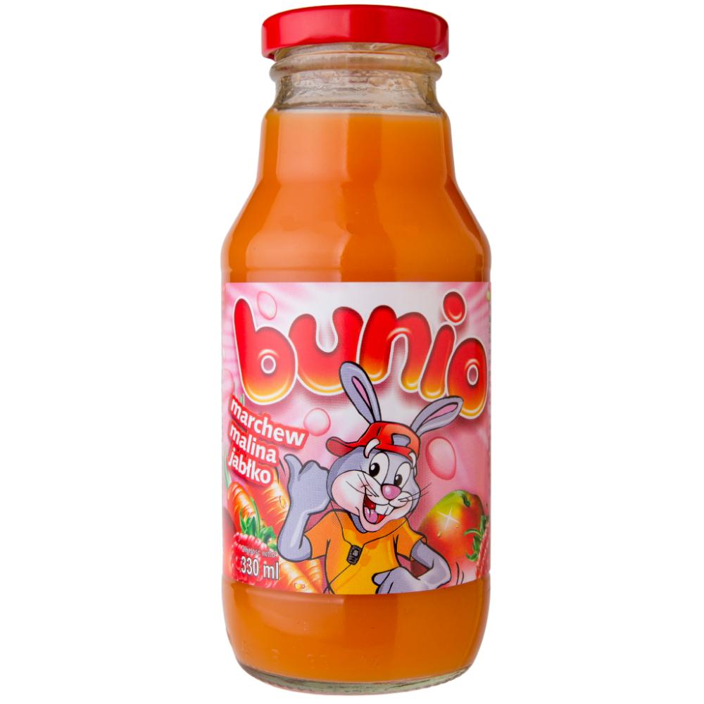 Сік Korkus 330мл морква-малина-яблуко, 15 шт/ящ