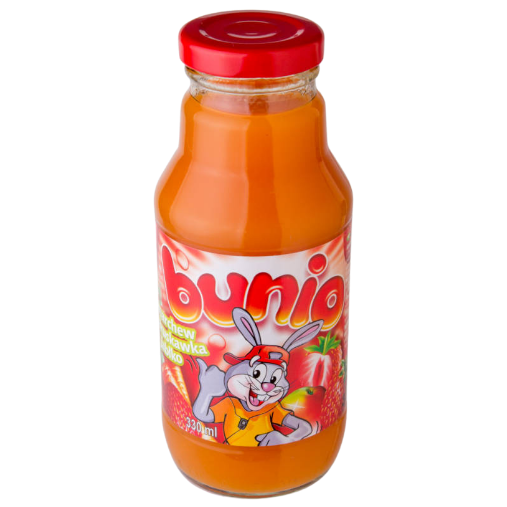 Сік Korkus 330мл морква-полуниця-яблуко, 15 шт/ящ