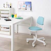 IKEA ORFJALL (604.417.79) Детский офисный стул, светло-голубой