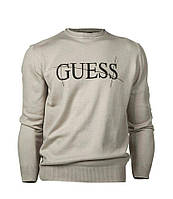 Свитер Джемпер мужской GUESS с лого на груди
