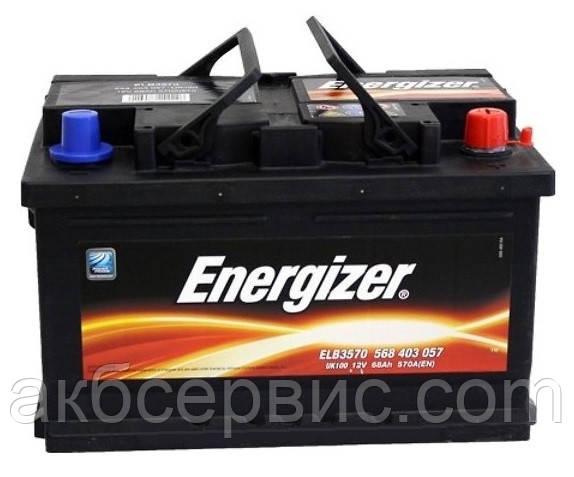 Аккумулятор автомобильный Energizer 6СТ-68 ELB3570