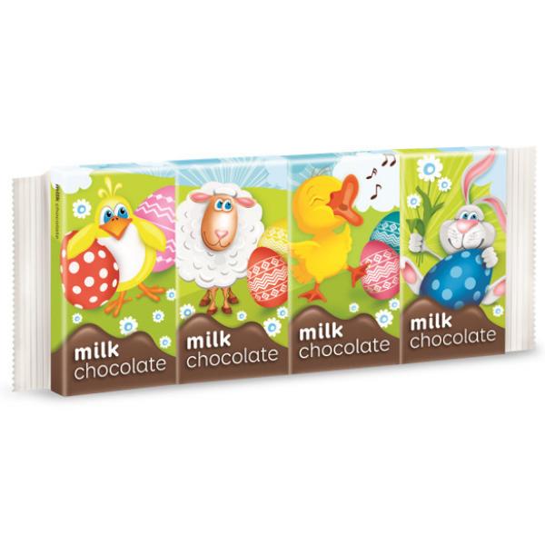 Шоколад молочний BARON (15гх4шт), 60г, 20шт/ящ