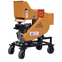 """Подрібнювач гілок з дизельним двигуном 14 л. с. діаметр гілок 120 мм """"Shkiv 2В120Д"""""""
