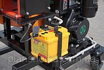 """Подрібнювач гілок з дизельним двигуном 14 л. с. діаметр гілок 120 мм """"Shkiv 2В120Д"""", фото 3"""