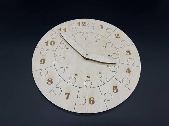 Годинник пазли. 25см, фото 2