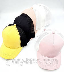 Кепка котонова підліткова 56-58р Код 6126 Glory-Kids