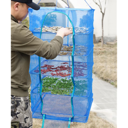 Сушилки, делаем таранку, сушилка для рыбы, для сухофруктов, грибов, 5 полок, 45 х 45 х 100 см, фото 2