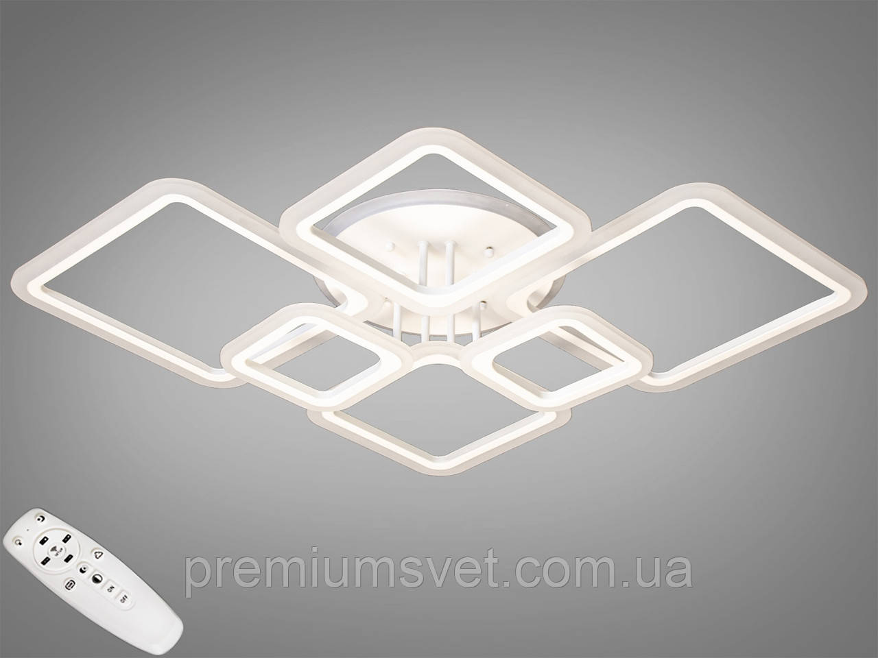 Люстра на натяжной потолок A8160/6 WH LED RGB dimmer