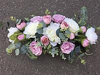 Свадебные украшения на гостевой столик