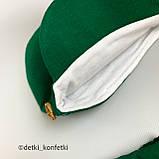 Комплект футболка, шорты, кепка Зелёный Murat baby Турция 56-62 (р), фото 3