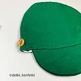 Комплект футболка, шорты, кепка Зелёный Murat baby Турция 56-62 (р), фото 4